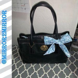 🍁🍂Coach Vintage Black Leather Purse